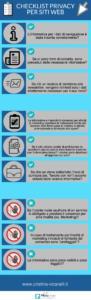 checklist trattamento dei dati personali sul web