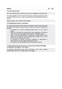checklist garante privacy aggiornata